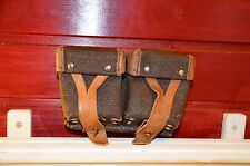 Authentic Soviet army, Mosin Nagant brown artificial leather (Kirsei) ammo pouch