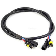 100cm Xenon HID Light Ballast High Voltage Extension Wire Harness Cable HLRG