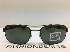 NEW RayBan Authentic Black Carbon Fiber RB8316 002 Sunglasses