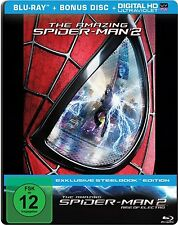THE AMAZING SPIDER-MAN 2, Rise of Electro (Blu-ray Disc, Steelbook) NEU+OVP
