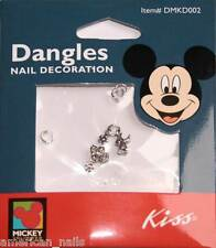 1 paquet de 2 Piercings bijoux d'Ongles MICKEY Nail Art
