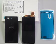 original Sony Xperia Z3 D5803 Compact LCD Display mit Backcover, schwarz