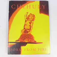 1993 Chihuly Form From Fire Hardcover Art Collection Works Book