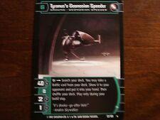 Star Wars TCG AOTC Tyranus's Geonosian Speeder (A)