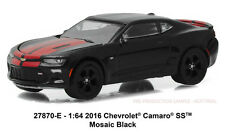 Greenlight General Motors Collection 2016 Chevrolet Camaro SS mosaic black