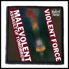 VIOLENT FORCE - Malevolent Assault of Tomorrow  ---- Patch / Aufnäher