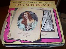 JOAN SUTHERLAND-THE ART OF THE PRIMA DONNA-NM-2 LP-GATEFOLD BOOKLET-LONDON FFRR