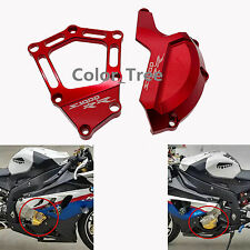 Red Engine Case Stator Cover Guard Sliders Protector Fit BMW S1000RR HP4 2010