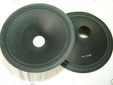 """Pair 12"""" Paper Speaker Cones -- Recone Parts -- B9-11127"""