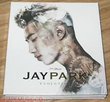JAY PARK Jae Bum Evolution 2ND ALBUM K-POP CD + POSTER IN TUBE CASE SEALED