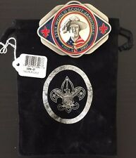 21st World Scout Belt Buckle Jamboree  2007 - BSA USA Contingent Logo - new