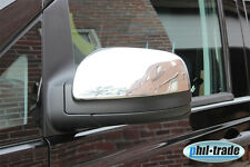 Mercedes Vito II (W639) Facelift  ab 2010 Chrom Spiegel Kappen aus *Edelstahl*