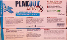 TOOTHPASTE PLAKOUT ACTIVE CHLORHEXIDINE 0,12 % TREATMENT LONG LASTING
