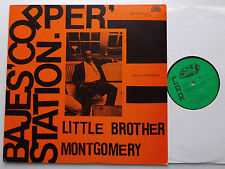 Little Brother MONTGOMERY Bajes Copper Station GERMANY LP BLUES BEACON  NMINT