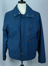 VTG 70's Men's Foxfire by Hirsch Weiss Blue Hunting Jacket/Coat Sz M EUC