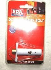 1 ERA 838-12 DOOR SECURITY BOLT CONCEALED FIXING KEY WHITE LOCK WOODEN WOOD