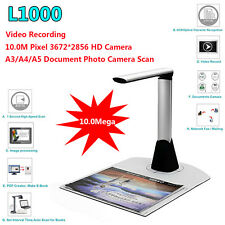 Portable A3 A4 A5 Document Photo Book ID Video Cam Scanner visualizer High-Speed