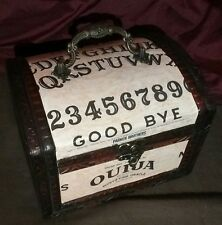 Ouija Board Box Purse HALLOWEEN GYPSY WITCH Occult Vintage game