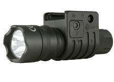 "Mission First Tactical Torch 1"" Standard Light Mount BLACK Picatinny Surefire"