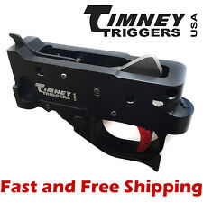 Timeny Ruger 10/22 Drop-In Competiton Trigger Group - Black Housing & Red Shoe