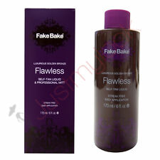 Fake Bake Flawless Liquid Tan Tanning Mist Spray & Professional Mitt 170ml