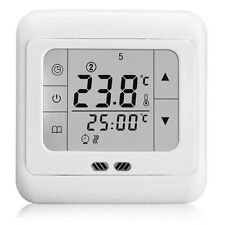 White Weekly Programmable Heating Thermost Touch Screen Thermostat BYC07.H3 QT