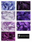 Satin Ribbon Double Sided Berisfords Purple & Lilac Shades Choice Widths 3501