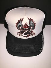 Orange County Choppers Trucker Hat Cap With Adjustable Snap Strap