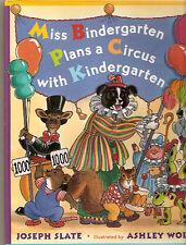 Border Collie Children's Book: Miss Bindergarten Plans a Circus