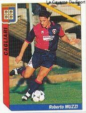 N°055 ROBERTO MUZZI # ITALIA CAGLIARI AS.ROMA STICKER TUTTO CALCIO 1995 SL