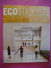 ECO-STRUCTURE Magazine Summer 2013 Top Ten Green Projects, Carbon Footprint, AIA