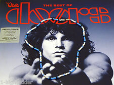 "21"" Jim Morrison Style Handmade Bead Necklace Orig. Turquoise White Black  Doors"