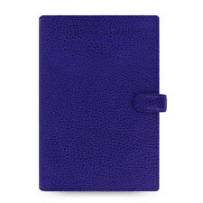 New Filofax Personal Size Finsbury Organiser Diary Electric Blue Leather -022499