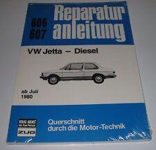 Reparaturanleitung VW Jetta I Typ 16 Diesel ab Baujahr Juli 1980 NEU Bucheli!