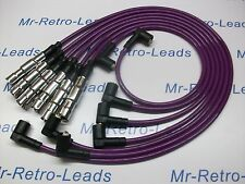 PURPLE 8MM HIGH PERFORMANCE IGNITION LEADS WILL FIT VW GOLF CORRADO VR6 PASSAT