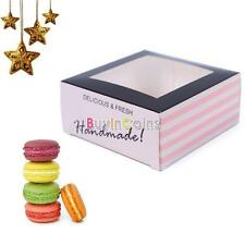 2Pcs Favor Gift Candy Cake Paper Cupcake Box Pretty Design Style