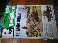 4µ?*  Revue Batailles XXe siecle n°74 Jagdpanther Char Espagne 1936 Flotte All.