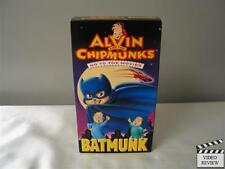Alvin and the Chipmunks Go to the Movies - Batmunk (VHS, 1992) Animated