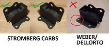 (x2) Soportes Motor Frontal Lotus Elan (** Stromberg carbohidratos **) (1962 - 74)