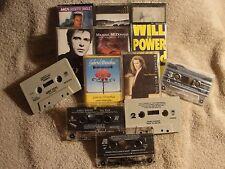 13 CASSETTE TAPES - SOFT TO CLASSIC ROCK - 1970's to 1980's - SOLD AS IS - P607