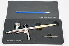 Airbrush Sparmax HB040 0.4mm nozzle 2ml cup gravity feed double action airbrush