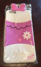 "NEW iPhone 6 Plus Disney ""Daisy Duck"" 3D Silicone Case Cover"
