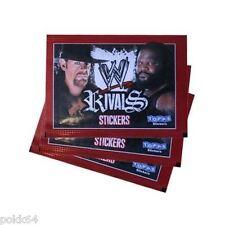 WWE lot de 25 paquets de 6 stickers Rivals booster 150 autocollant catch neuf