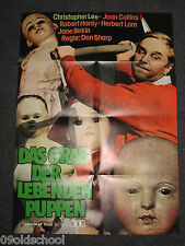 DAS GRAB DER LEBENDEN PUPPEN PLAKAT A1 HORROR Dark Places   Christopher Lee