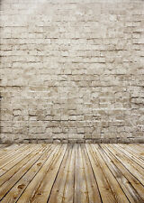 Brick Wall Studio Backdrop Vinyl Photography Photo Background 5x7ft