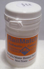 RailMatch 2421 - Matt White - General Colour - Acrylic Paint - 18ml Pot