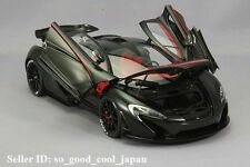 AUTOart MCLAREN P1 Matt Black / Red 76027 1/18 Scale Model Car Japan made