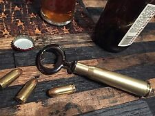 REAL 50 Caliber Shell Gunmetal Bottle opener Beer .50 Brass Heavy Casing Micro
