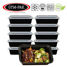 PK10 Meal Prep Food Containers 16oz GYM-PAK (strongest Containers On eBay)