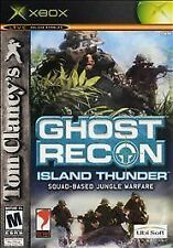 Tom Clancy's Ghost Recon Island Thunder (Xbox) Xbox 360 FPS Shooter DISC ONLY